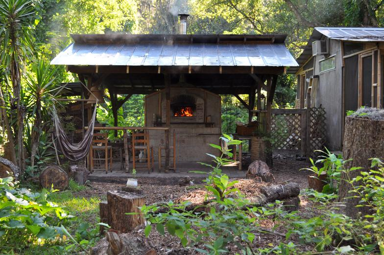 here are some photos of our store backyard and brick oven and farm